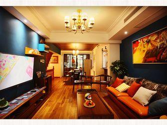 20万以上140平米复式混搭风格客厅图片大全