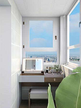 50平米小户型现代简约风格阳台装修案例