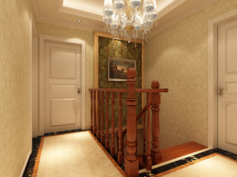 豪华型140平米四室三厅欧式风格楼梯效果图