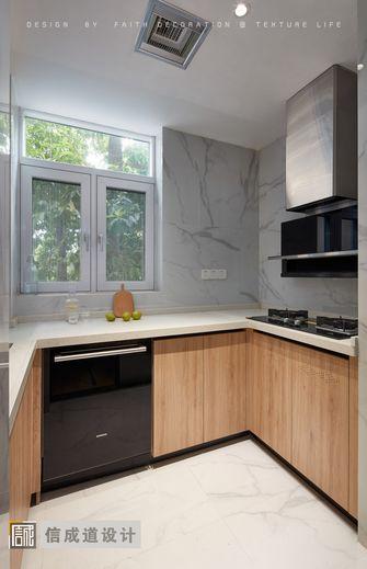 70平米三室两厅日式风格厨房图