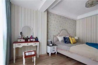 80平米三室一厅美式风格卧室设计图