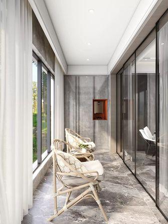 140平米三现代简约风格阳台设计图