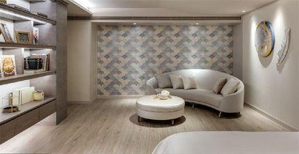 140平米四室四厅混搭风格影音室设计图