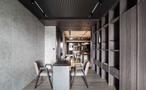 140平米四室三厅地中海风格餐厅图片