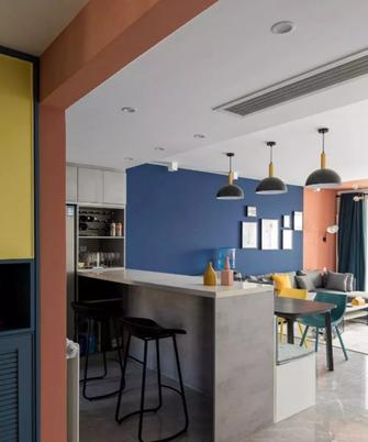 130平米四混搭风格餐厅设计图