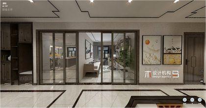 经济型110平米四室两厅中式风格客厅效果图