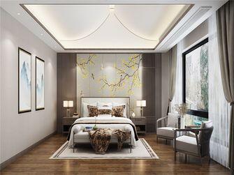 140平米三中式风格卧室装修图片大全
