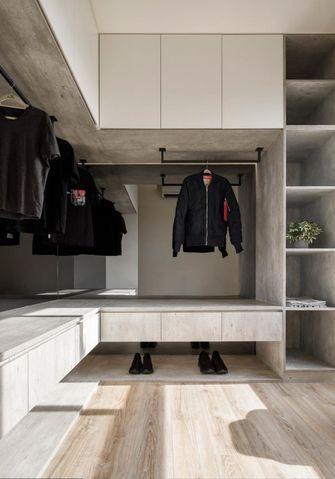 90平米三室两厅现代简约风格衣帽间欣赏图