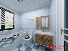 90平米三室一厅田园风格卫生间装修效果图