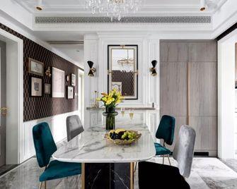 130平米三室三厅美式风格餐厅设计图