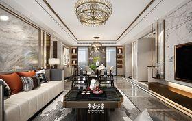 140平米復式中式風格客廳圖