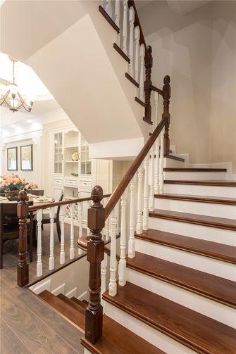 豪华型140平米复式美式风格楼梯装修图片大全