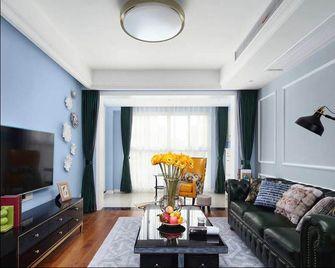 60平米一室两厅美式风格客厅装修案例
