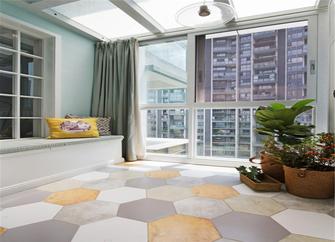100平米三室一厅北欧风格阳台装修案例