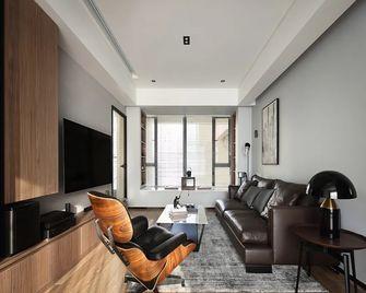 120平米三室一厅英伦风格客厅装修图片大全
