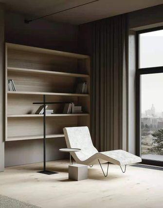 80平米一居室现代简约风格书房装修图片大全