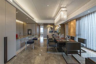 110平米三室两厅英伦风格餐厅欣赏图