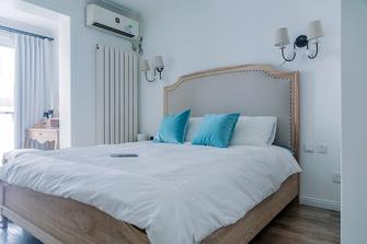 80平米三室两厅美式风格卧室装修效果图