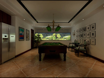 140平米复式欧式风格健身室欣赏图