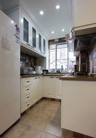 60平米田园风格厨房效果图