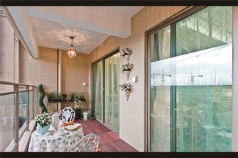 120平米三室一厅法式风格阳台欣赏图