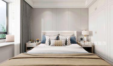 130平米三室两厅中式风格卧室图片