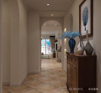 富裕型140平米三室两厅地中海风格玄关效果图