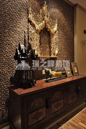 经济型100平米三室两厅东南亚风格玄关装修图片大全