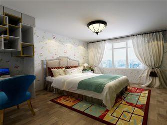 50平米一室一厅田园风格卧室欣赏图