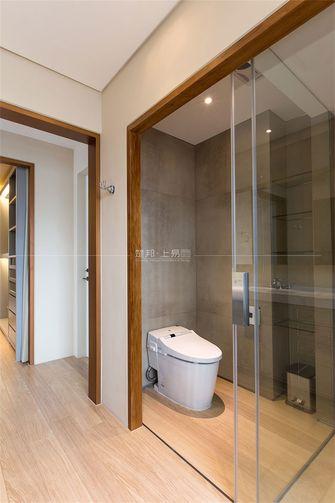 110平米三室一厅日式风格卫生间图