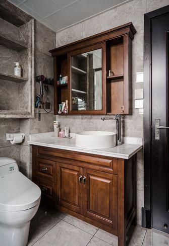 100平米三室两厅美式风格卫生间图片大全