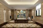 140平米别墅混搭风格卫生间浴室柜装修案例