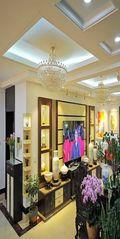 140平米四室四厅中式风格客厅设计图
