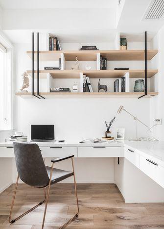 80平米四室两厅北欧风格书房装修案例