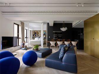 120平米三室两厅混搭风格客厅设计图