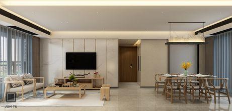 130平米四室两厅日式风格客厅装修图片大全