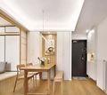 70平米日式风格餐厅设计图