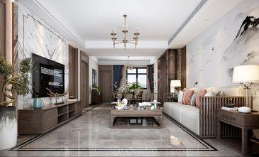90平米三室两厅中式风格客厅图片大全