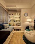30平米以下超小户型地中海风格儿童房装修图片大全