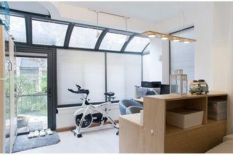 80平米宜家风格健身室图