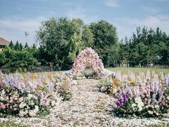 奥森先生草坪婚礼花园