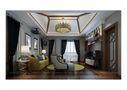 140平米别墅中式风格影音室沙发图片
