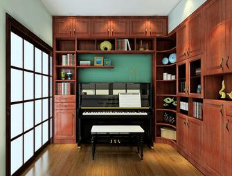 经济型30平米以下超小户型新古典风格书房图