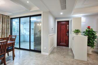 120平米三室两厅美式风格玄关装修图片大全