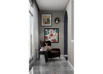 120平米三室两厅美式风格阳台欣赏图
