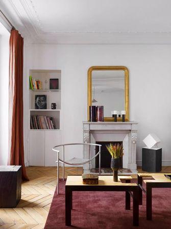 100平米三室一厅欧式风格客厅装修效果图