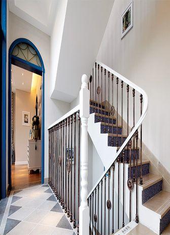 140平米四室两厅地中海风格楼梯间图片