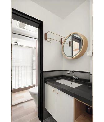 80平米三现代简约风格卫生间欣赏图