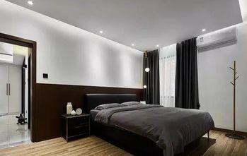 90平米现代简约风格卧室图片