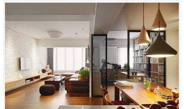 130平米三室两厅英伦风格客厅欣赏图